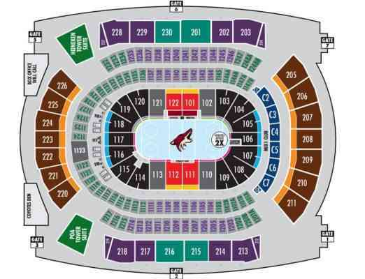 phoenix coyotes arena map Public Transport And Directions To Gila River Arena phoenix coyotes arena map