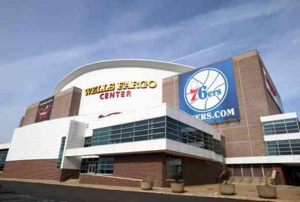Philadelphia Sports Stadium Complex Eagles Phillies 76ers Flyers I-95 Spectrum