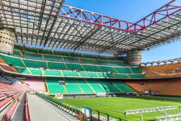Best Seats And Capacity Of San Siro Milan